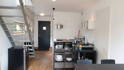Galeriewohnung - modern, ruhig, zentral, Küche+Bad