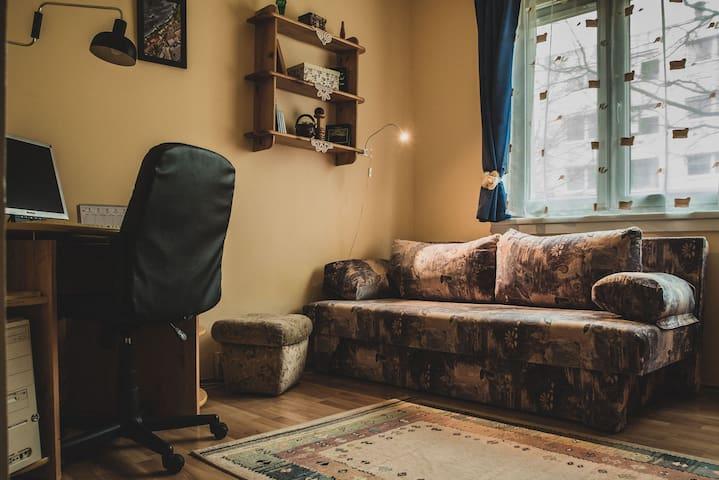 A vendégszoba
