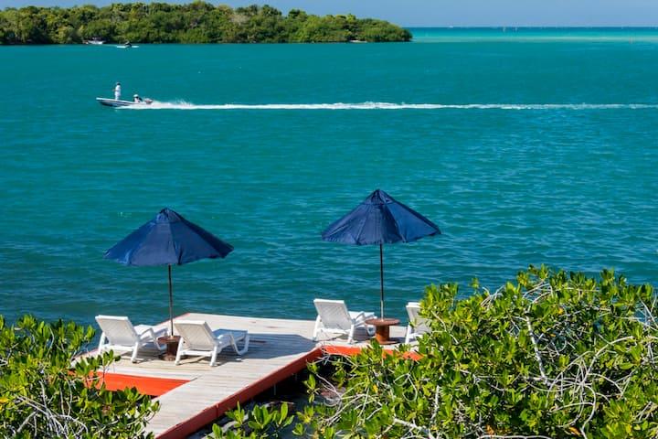 Casa Playa Scondida Lugar Encantador, Isla Barú