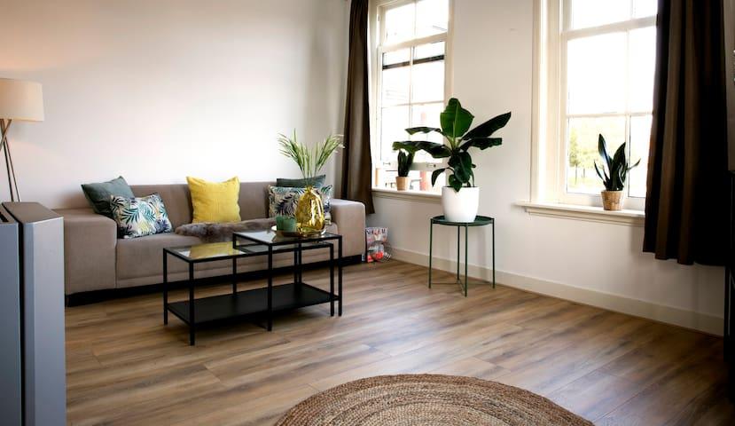 Super mooi appartement in het centrum van Haarlem.