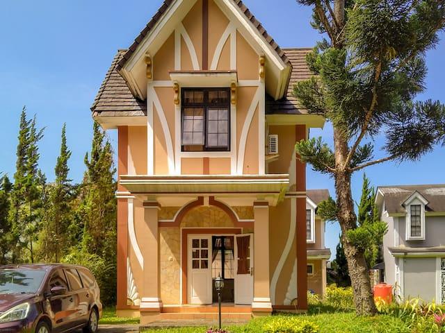 Mountain View 2 BR Pinewood House Villa Kota Bunga