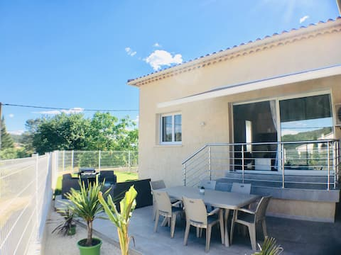Ales Cévennes villa comfort and peace