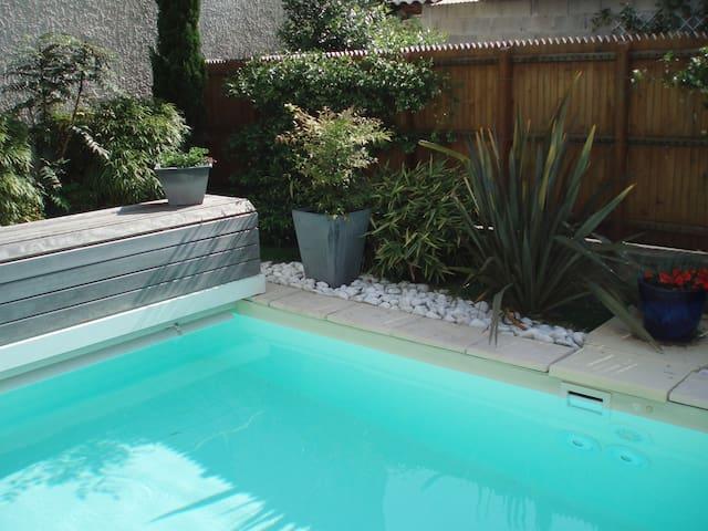 Maison de village parc du Pilat piscine chauffée - Saint-Pierre-de-Bœuf - House