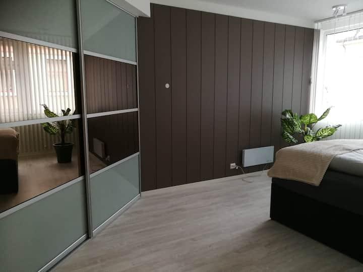 Moderne leilighet m/ 2soverom med dobbelseng
