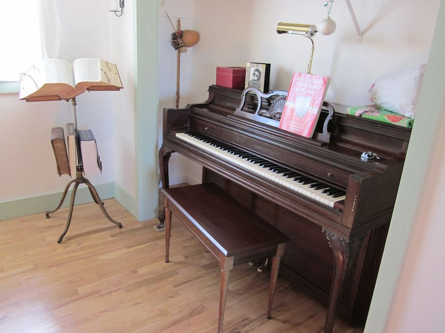 piano nook in 'the study' - help yourself!
