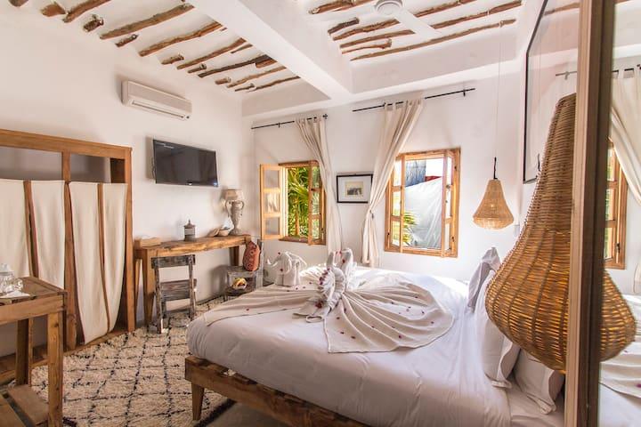 Private room at La Ferme Médina Marrakech