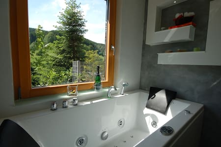 Resina Suite mit Whirlpool & Sauna - Osterode am Harz - Appartement