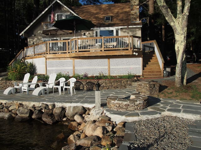 Lakeside on Newfound Lake - Sleeps 8 - Bristol - Talo