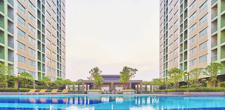 Lumpini Ville Nakhon In-Riverview/1 Bed Room BKK10