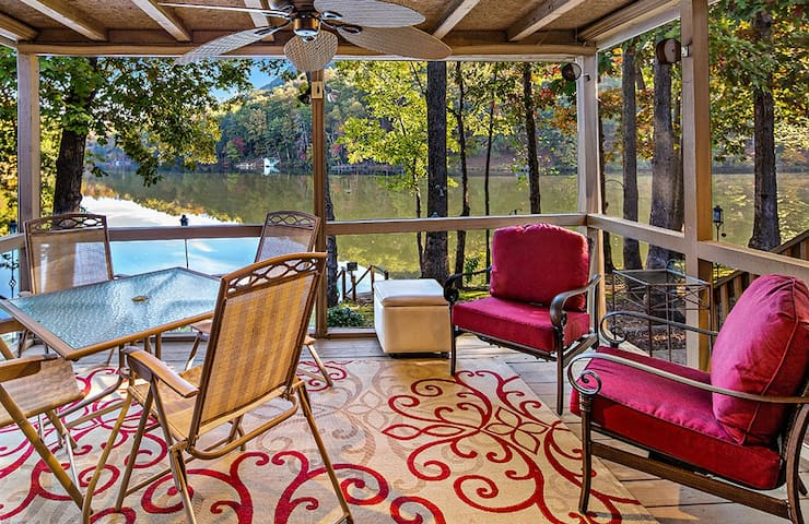 Papa's Lakeside Retreat - Mr Lake Lure Vacation Rentals