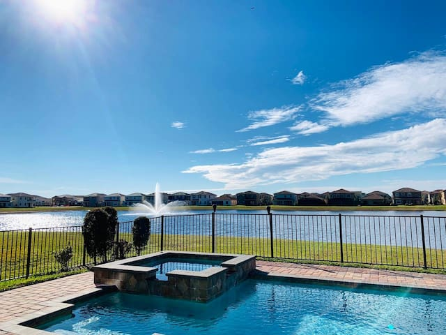 Double Queen Suite with a view in Lake Nona.