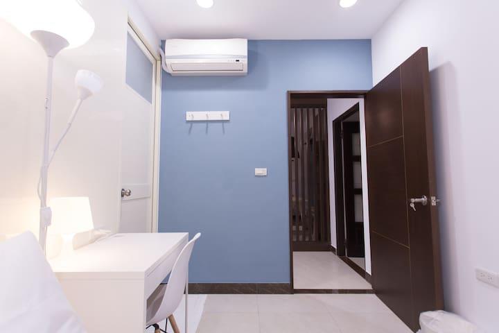 樂窩金城_珍珠藍精緻套房 - Jinhu Township - Appartement