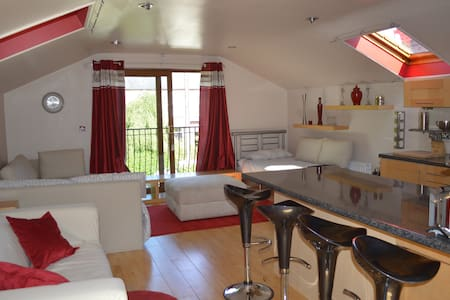 Private Studio by the main house, fully equipped. - Belfast - Maison