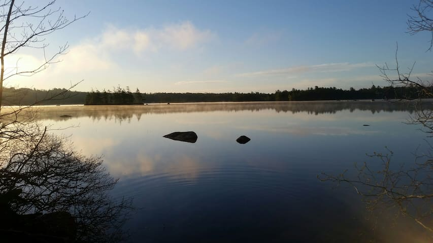 Private Lakeside Camping in Penobscot, Maine