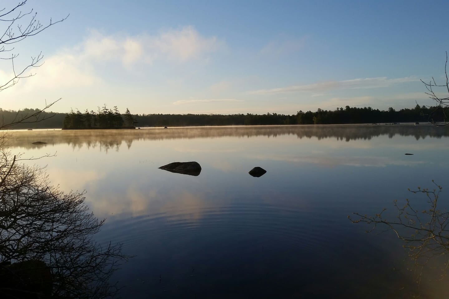 Enjoy a little time on one of Downeast Maine's most popular lakes. Toddy Pond