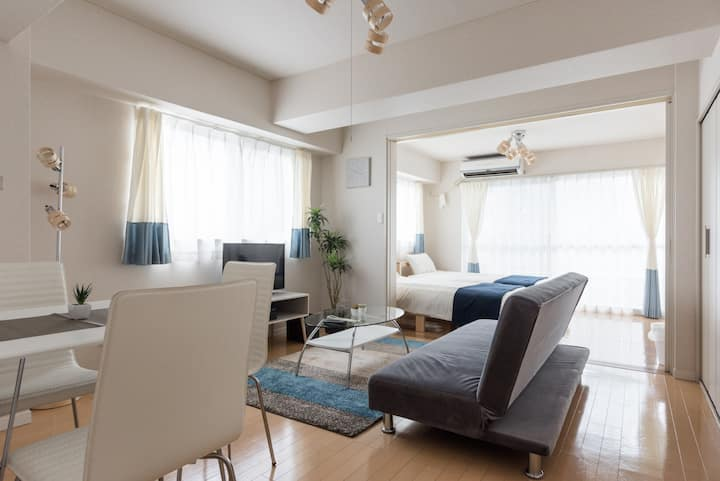 Cozy room at Gotanda 6min / Shibuya 7min! freewifi