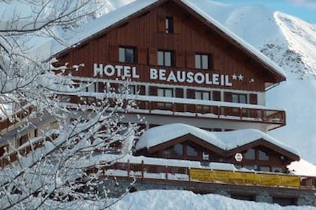 B&B - Chambre double - balcon - Skis aux pieds - Saint-Sorlin-d'Arves - Bed & Breakfast