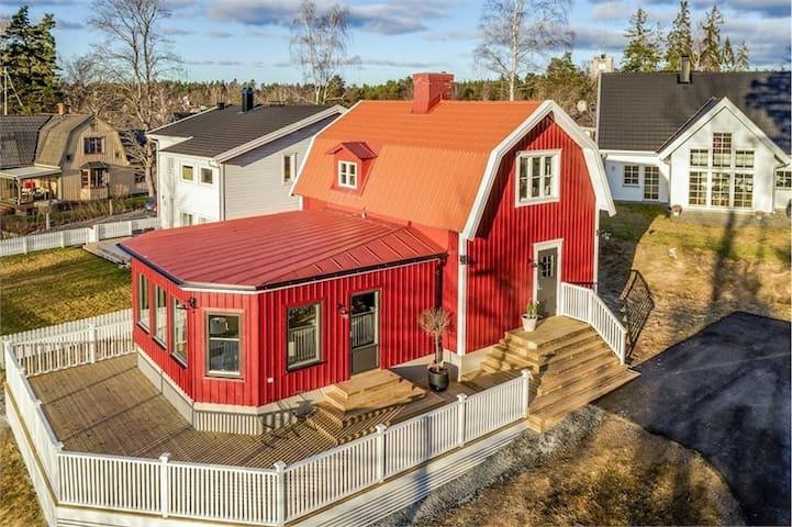 Complete villa 15 minutes from Arlanda