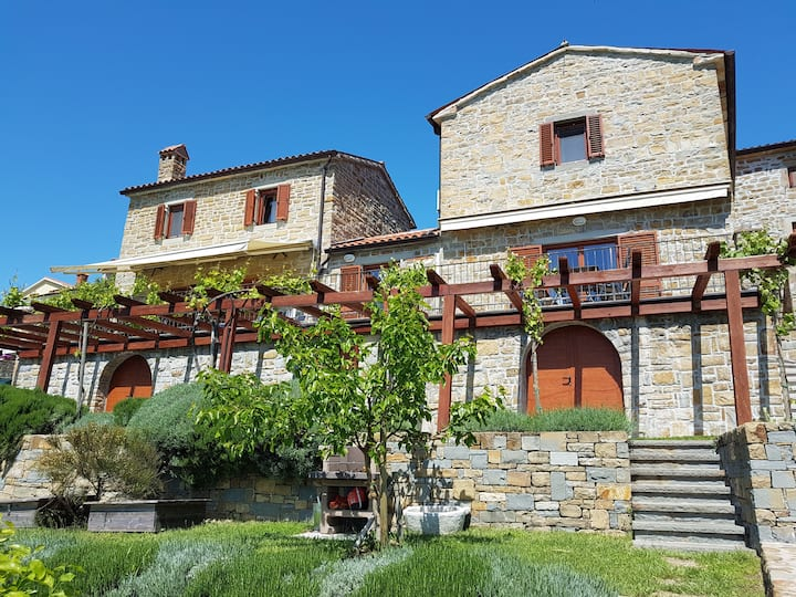 Istrian stone house Padna, 2-4 person, Padna 65c