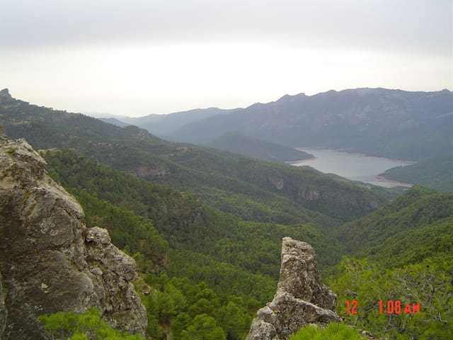 LA CASA DE LA LUZ. Parque  Natural de Cazorla... - Pontones - Huis