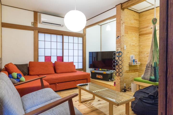Traditional Japanese house!! 3min from station