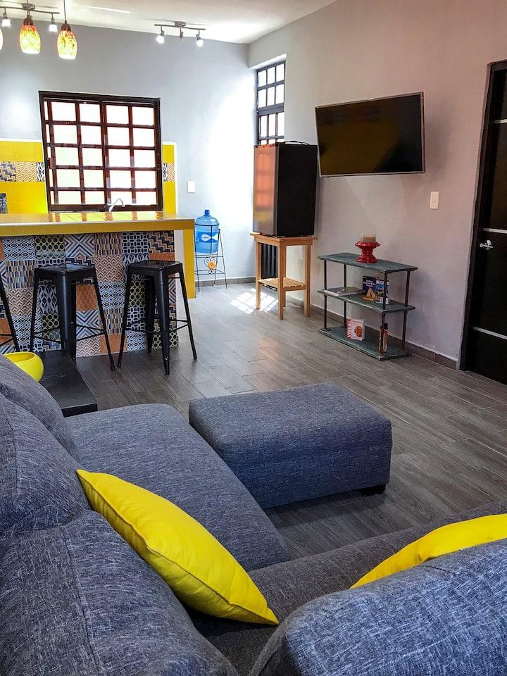 2 Bed & 2 Bath Modern & Private Cancun Casa