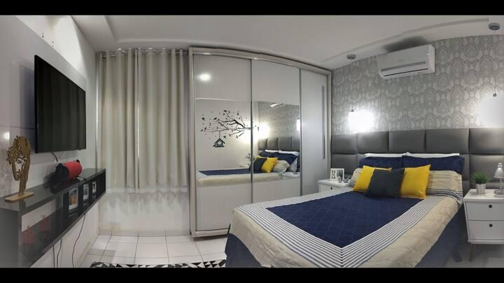 Suite com conforto e qualidade em campina grandePB