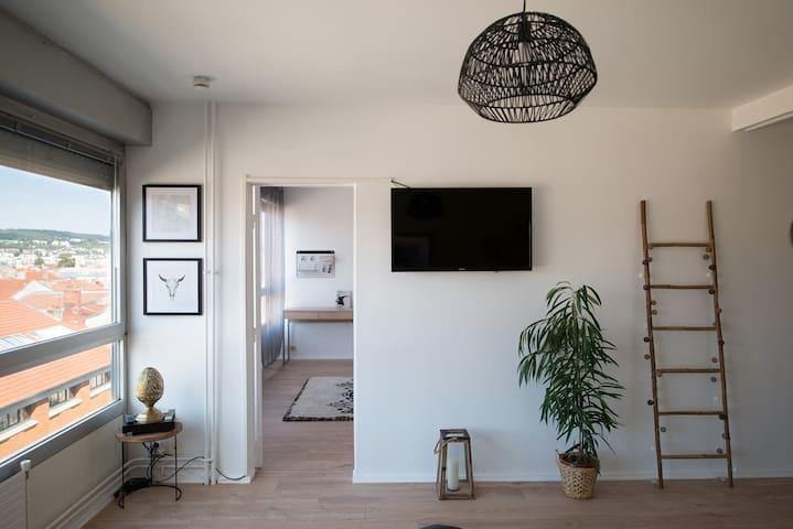 Charmant appartement avec vue au coeur de Nancy