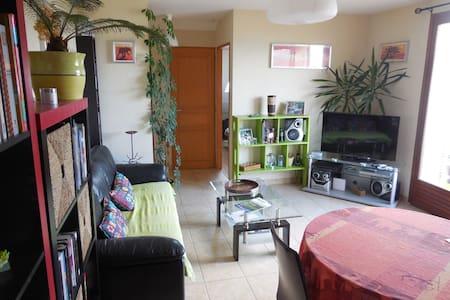 Appartement pratique, balcon beau panorama, calme - Poisy