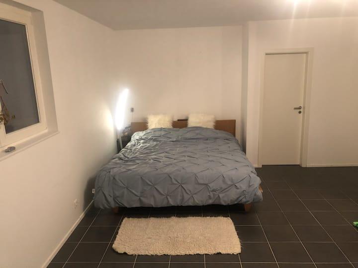 Geräumiges Zimmer inkl Bad für 2 - 3 in Villa