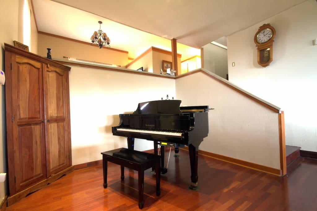 Piano in Foyer