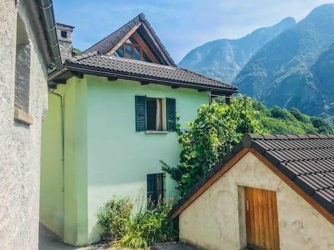 Casa Verde - Casa de poble Ticino a Valle Maggia