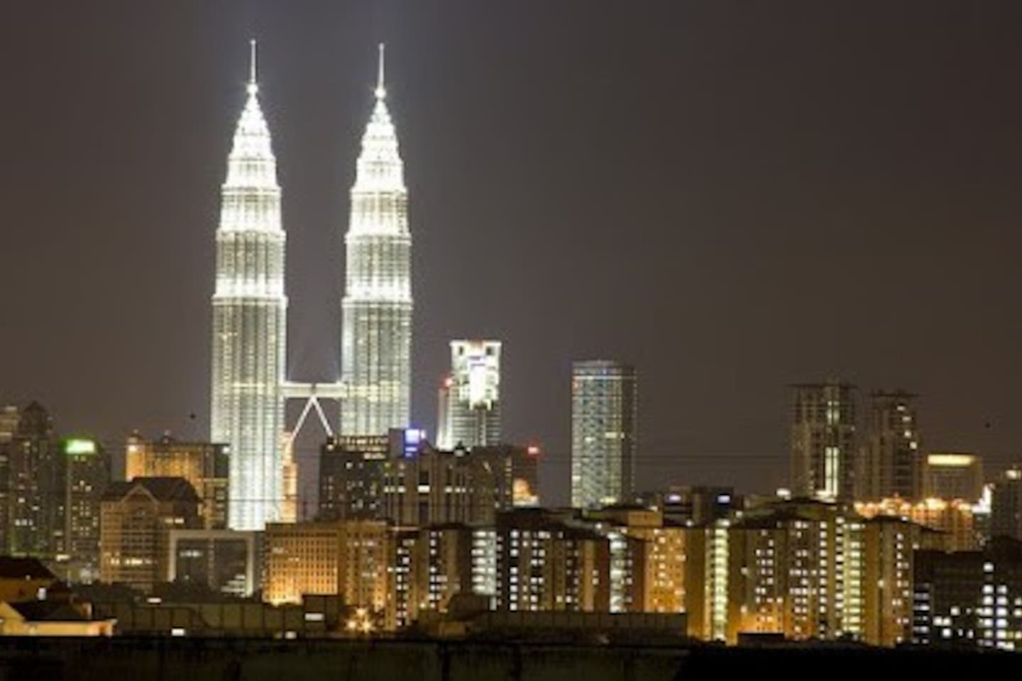 Spectacular KL city view from your lovely bedroom, all our guests love it so much!
