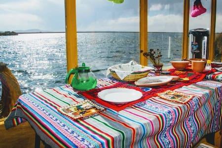 Uros Amaru Marka Lodge habitaciones & experiencias
