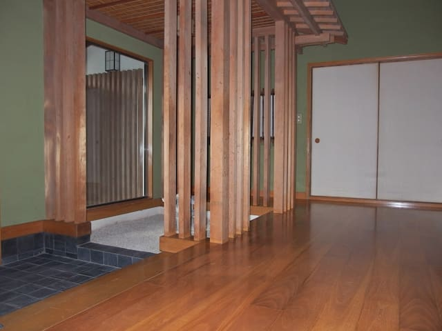 Obara Cottage Inn:surrounded by green forest