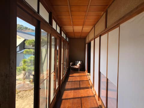 "Teshima ""Commune"" Renovated Japanese folk house"