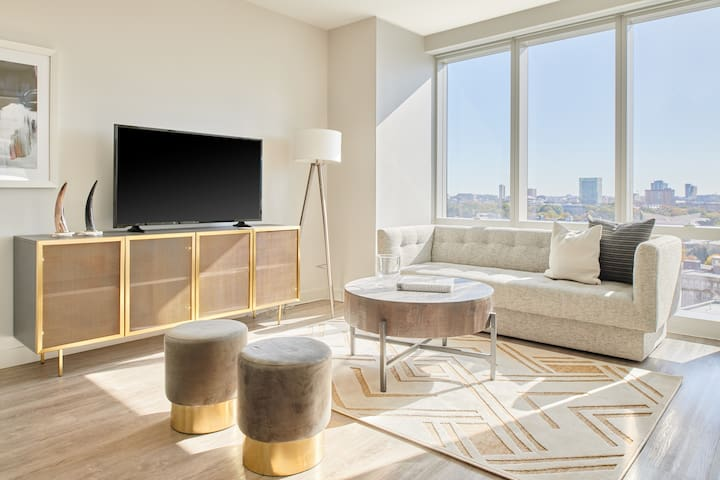Sonder | Pierce Boston | Sleek 1BR + Lounge