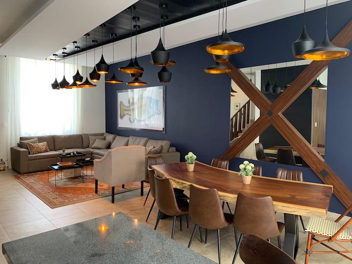 Casa en León con Interiores tipo Boutique