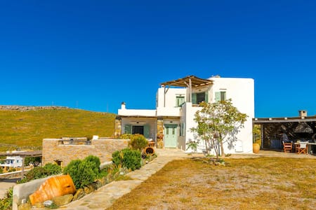 Cyclades villa with panoramic view - Kea Kithnos - 别墅