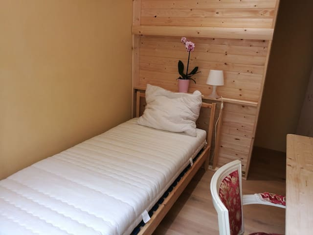 A comfy bed near airport, hospital, stadium (3)