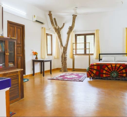 Peaceful Villa at Auroville