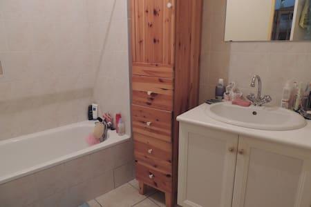 Chambre dans agréable duplex au pied des Pyrénées - Bed & Breakfast