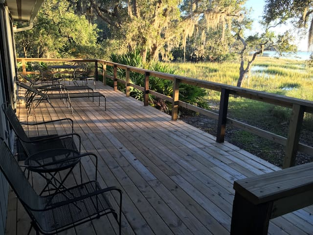 the intracoastal house - Fernandina Beach - Casa