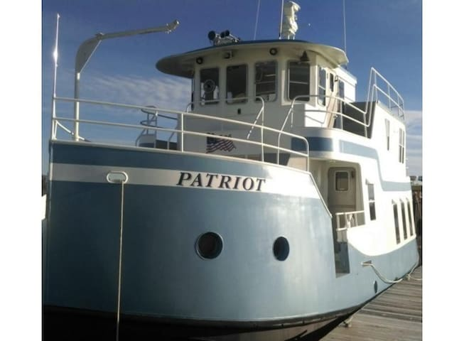 M/V Patriot:  Absolutely Amazing Boat Rental Downtown on the Waterfront!