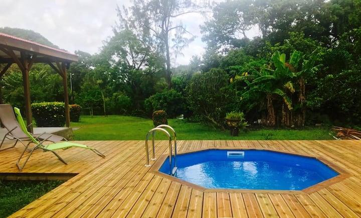 Domaine de l'Escouët avec piscine
