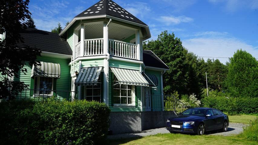 Дом Мумми Троля в Савонлинне - Savonlinna - Rumah