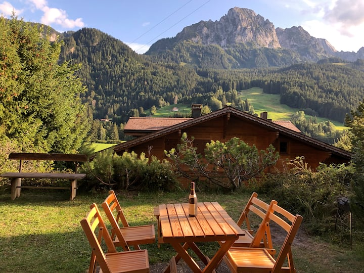 Appartment in best location of Rougemont, Gstaad