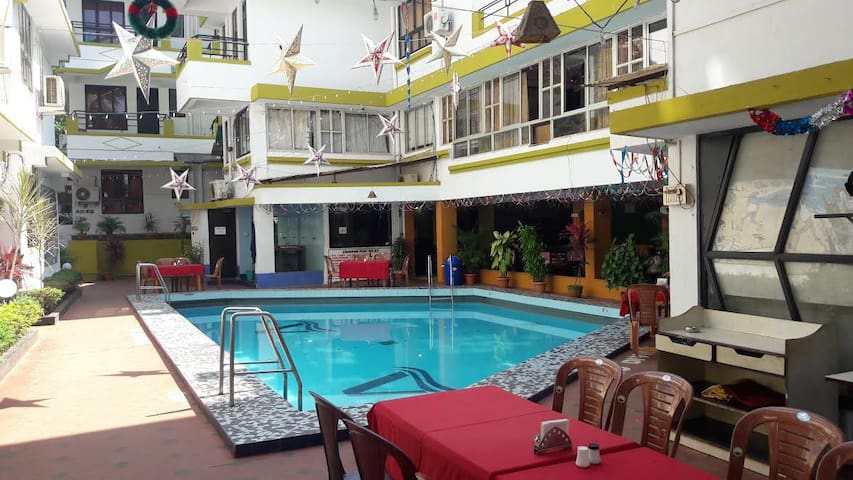 Fully Furnished Ac Studio For Rent in 3 Star - Calangute - Huoneisto