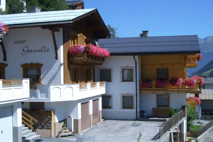 Maison de vacances confortable à Kappl près du centre ville