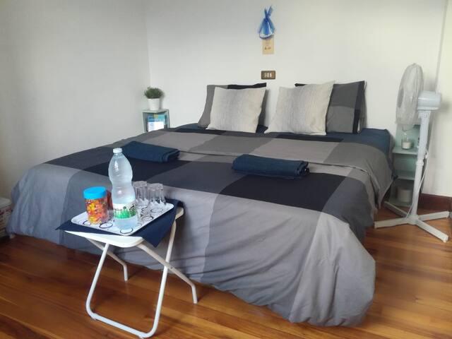 Room with beautiful views of Bilbao
